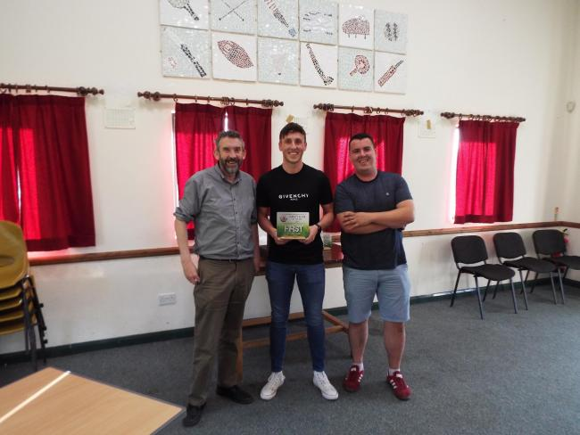 Reserve team players' player of the season Oliver Crimp
