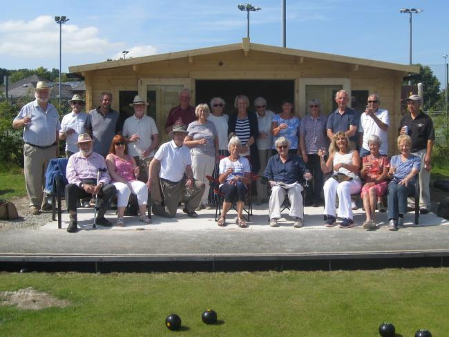 A strawberry and prosecco event marks the opening of Gorphwysfa Bowls Club's new clubhouse