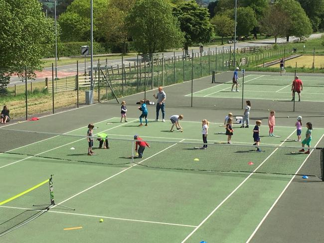 Free coaching for young beginners at Ruthin LTC's courts is available at the open day on Saturday