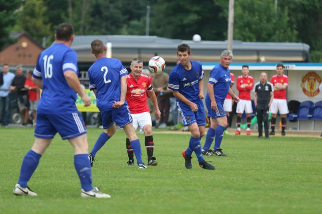 Denis Irwin in action at Ruthin last year