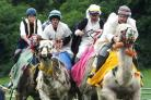 Camel racing is set to take place in Llangollen