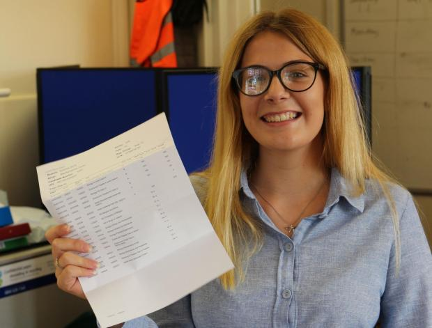 Denbighshire Free Press: Nia Tovey is to study psychology at Leeds