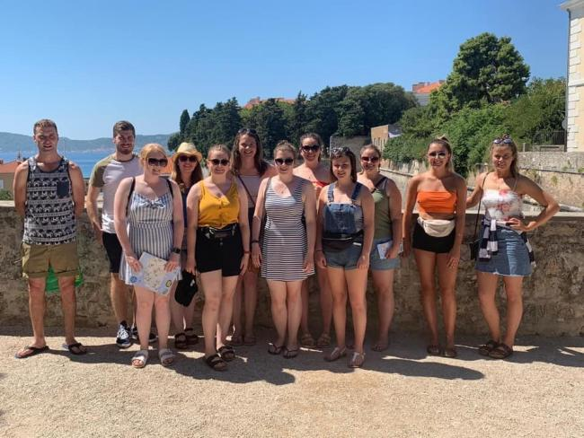 Members of Wales YFC are currently travelling around Europe