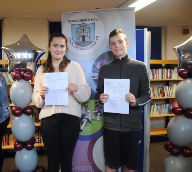 Denbighshire Free Press: Katie McCall and Morgan Rowlands