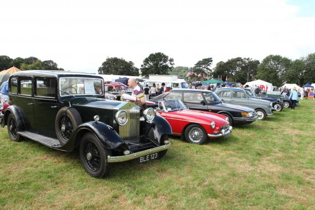 A range of classic cars will once again be available for viewing at the Denbigh Show
