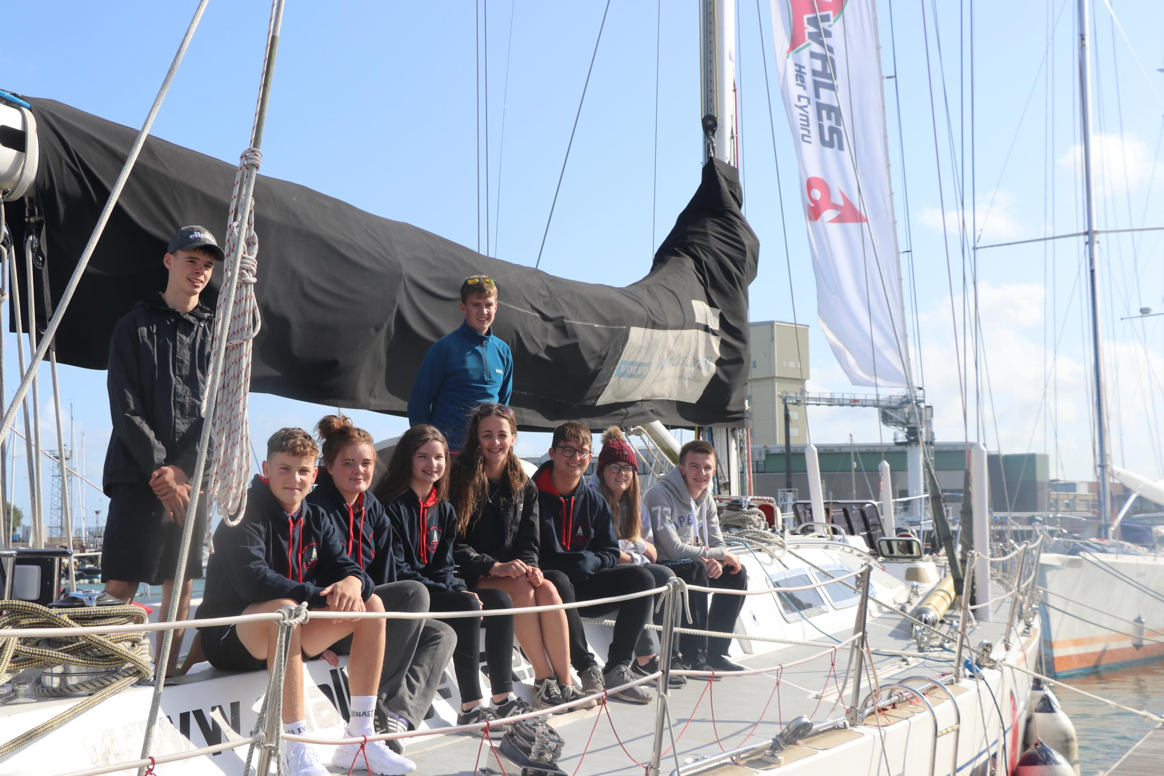 Epic sailing challenge for Wales YFC members