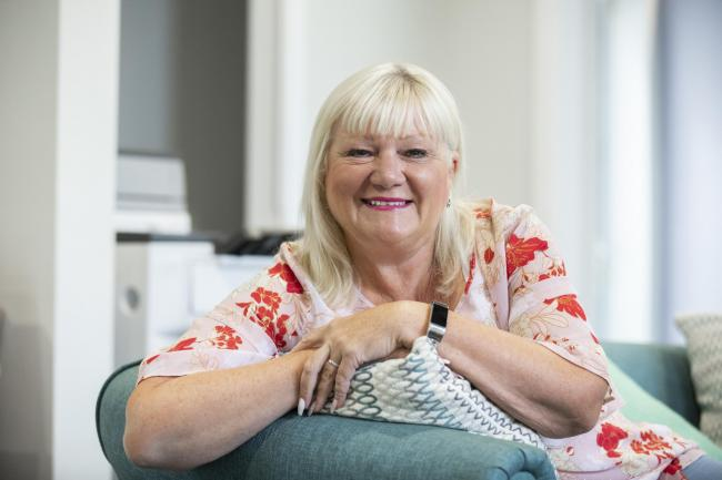 Joyce Bellingham is on the final list of nominees for a Wales Care Award. Picture Mandy Jones