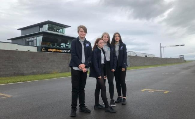 Talented pupils from Team Quantum were invited to Anglesey Circuit in the summer