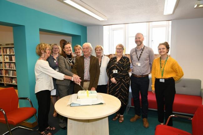 Denbigh Library has celebrated 30 years of existence in its current home