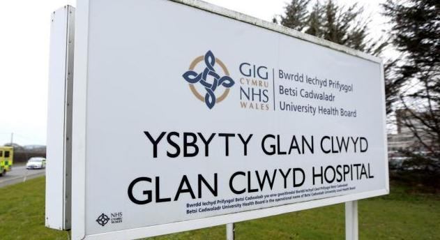 Ysbyty Glan Clwyd is one of the hospitals under Betsi Cadwaladr University Health Board
