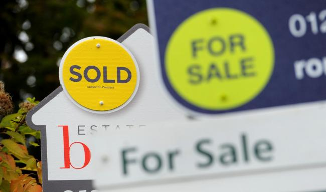 Denbighshire house prices increased more than across Wales in October