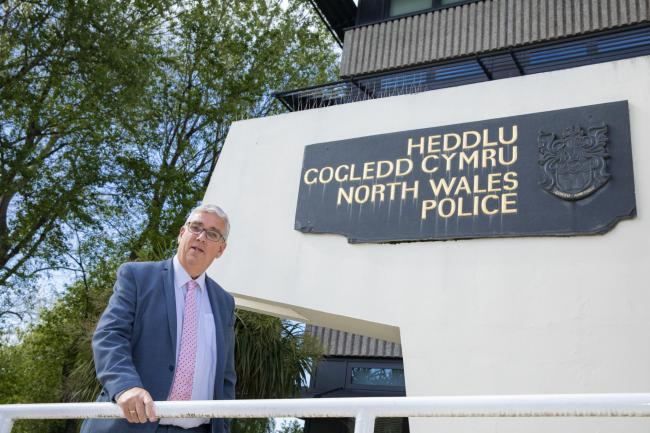 North Wales Police and Crime Commissioner Arfon Jones is calling for reform to British law on 'right to die'. Picture Mandy Jones