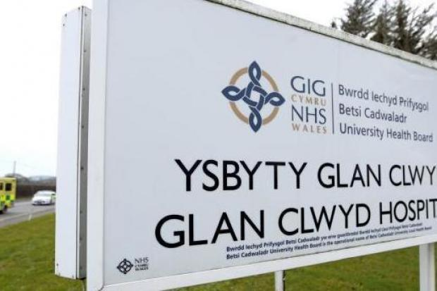 Glan Clwyd Hospital – tThe number of people awaiting hospital treatment in North Wales has passed the 100,000 mark