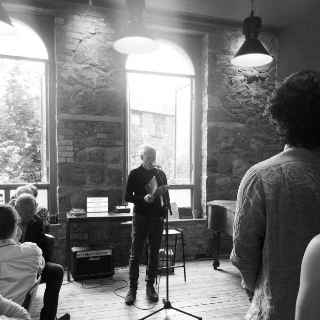 Glyn Edwards reads from his collection Verterbrae in June