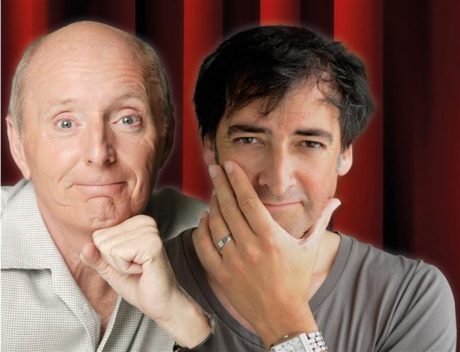 Jasper Carrott and Alistair McGowan