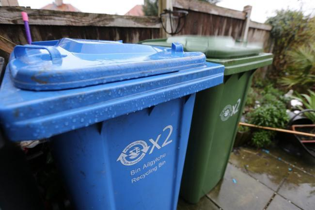 There have been seasonal changes to bin collections in Denbighshire. Picture: Geoff Abbott