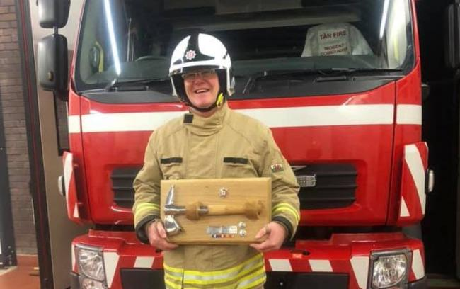 Andy Ballard is retiring from the fire service after giving 35 years of his life to the cause.