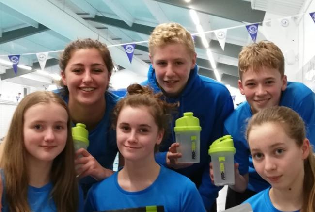 Ruthin Rays at the Swim Wales North Regional Championships