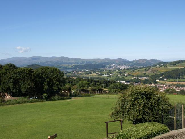 The view from the Welsh Mountain Zoo. Picture: Nick Jackson
