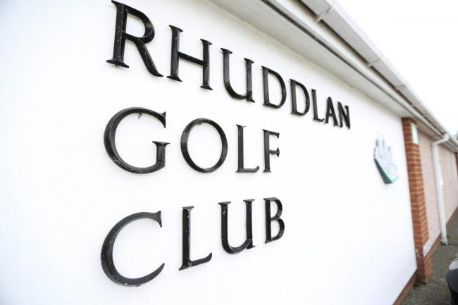The Welsh ladies' amateur championships was scheduled to be played at Rhuddlan Golf Club between May 23 and 25