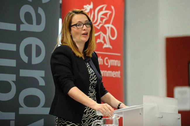 Welsh Assembly education minister Kirsty Williams keynote speech....© WALES NEWS SERVICE ..