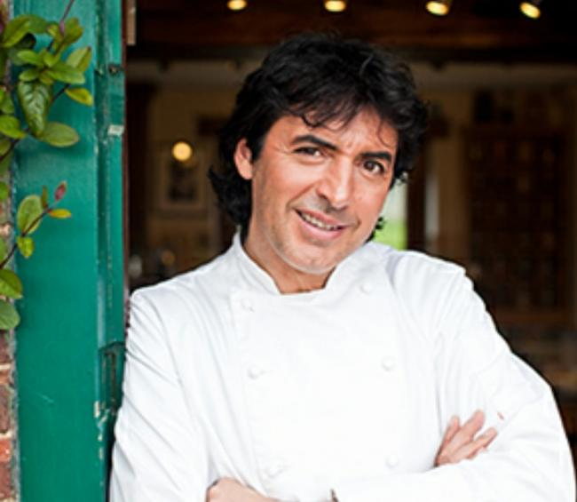 Jean Christophe Novelli backs cancer research in North Wales