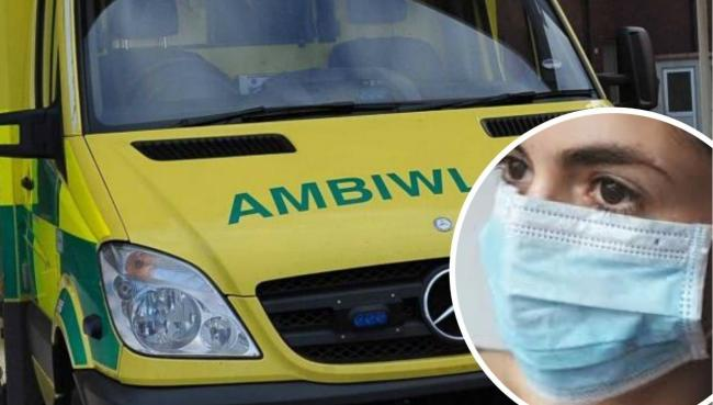 The Welsh Ambulance Service is asking patients to comply with wearing PPE to halt the spread of Covid-19
