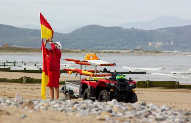 RNLI lifeguards will patrol 26 beaches in Wales this summer. Picture: RNLI
