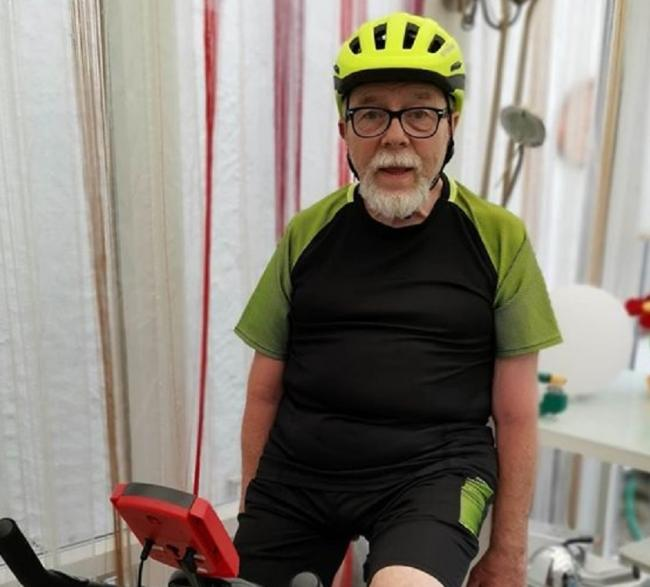 Bob Singfield, 74, is taking on the challenge for St Kentigern