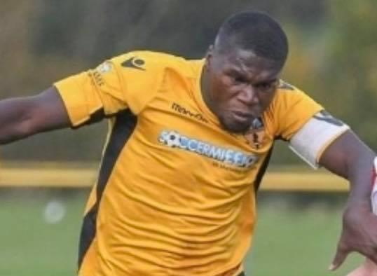 Vita Mbolokele is one of Ruthin Town's new signings.