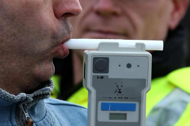 Generic image of a breathalyser test.