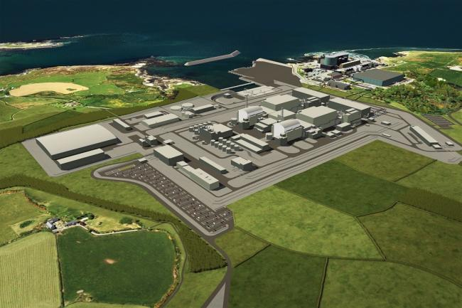 An impression of the cancelled Wylfa project