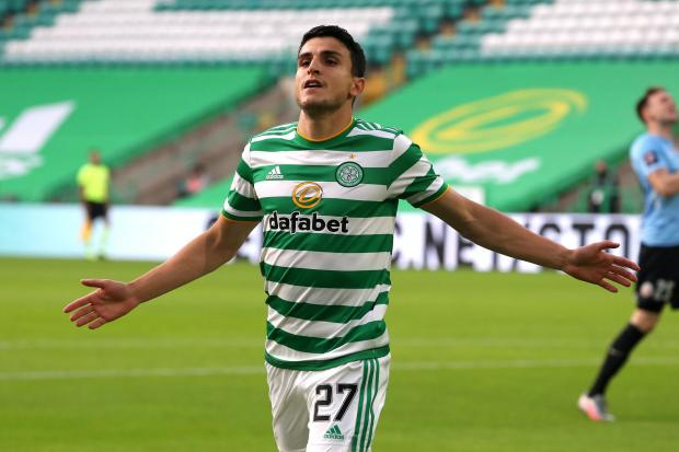 Mohamed Elyounoussi was the match-winner for Celtic