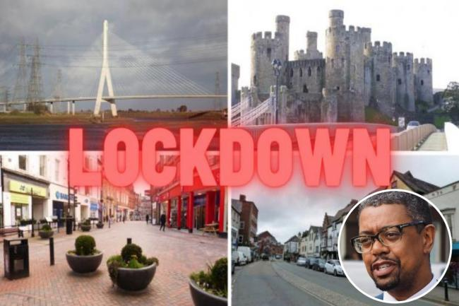 Vaughan Gething talks about lockdowns in North Wales.