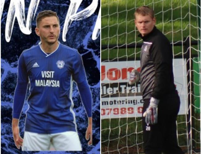 Ryan Pryce (left) and Jon Rushton are the latest to sign on at Maes Tegid.