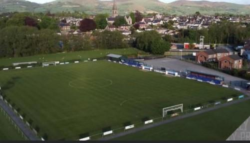 Ruthin Town's home ground - Memorial Park Fields.