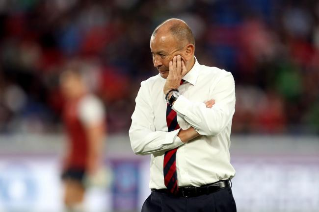 Eddie Jones and England suffered defeat in the 2019 World Cup final