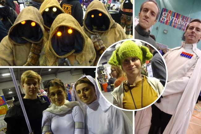 Star Wars cosplayers at Wales Comic Con. Images: Hellbound Media