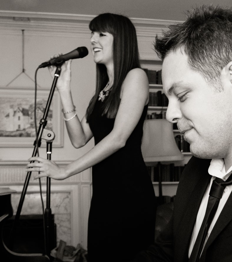 Carly and Russ will be providing the entertainment at Wigfair Hall