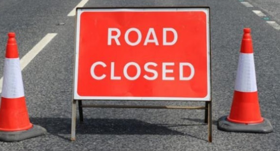The road will be closed for up to five nights