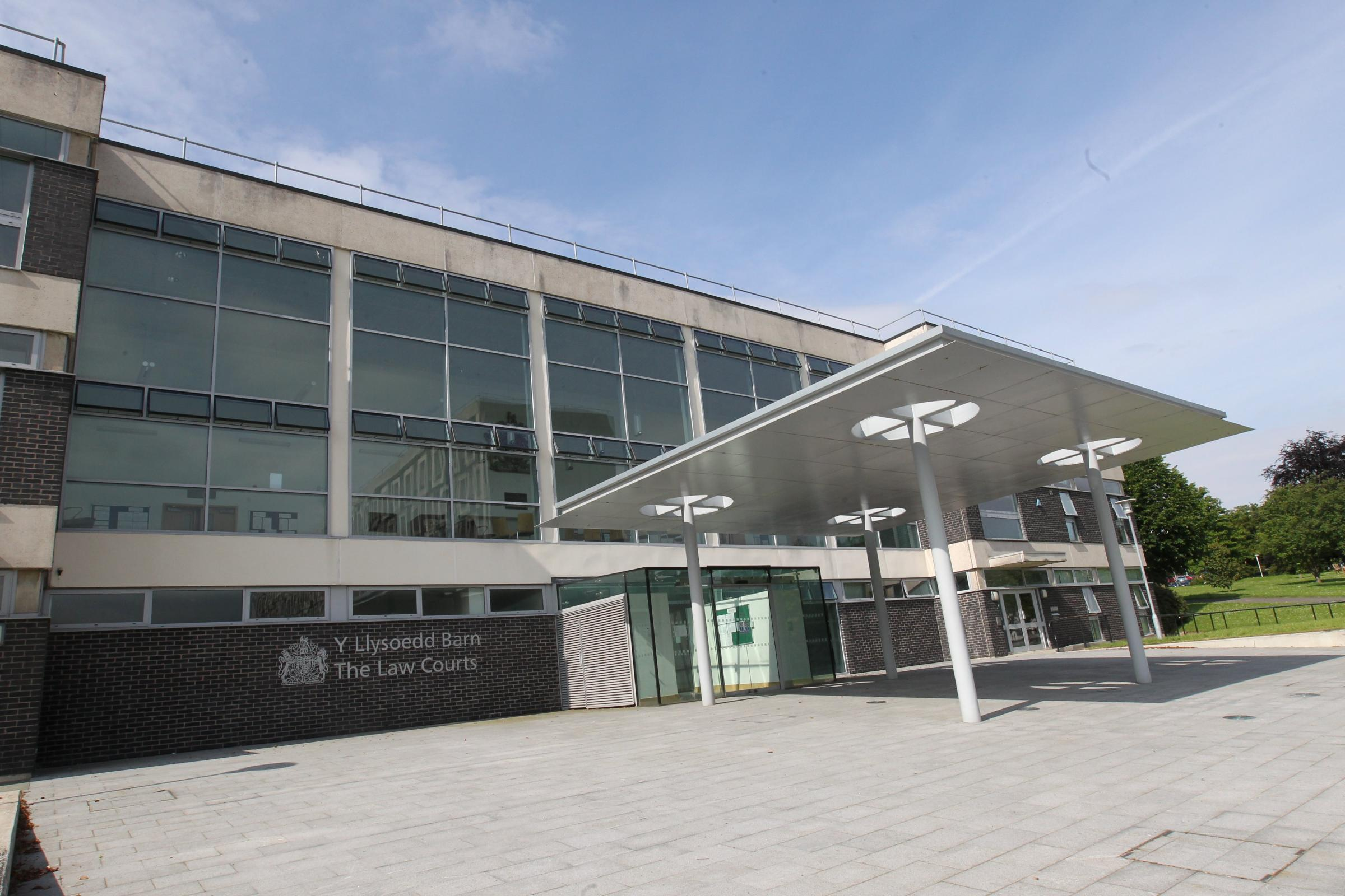The law courts at Mold.