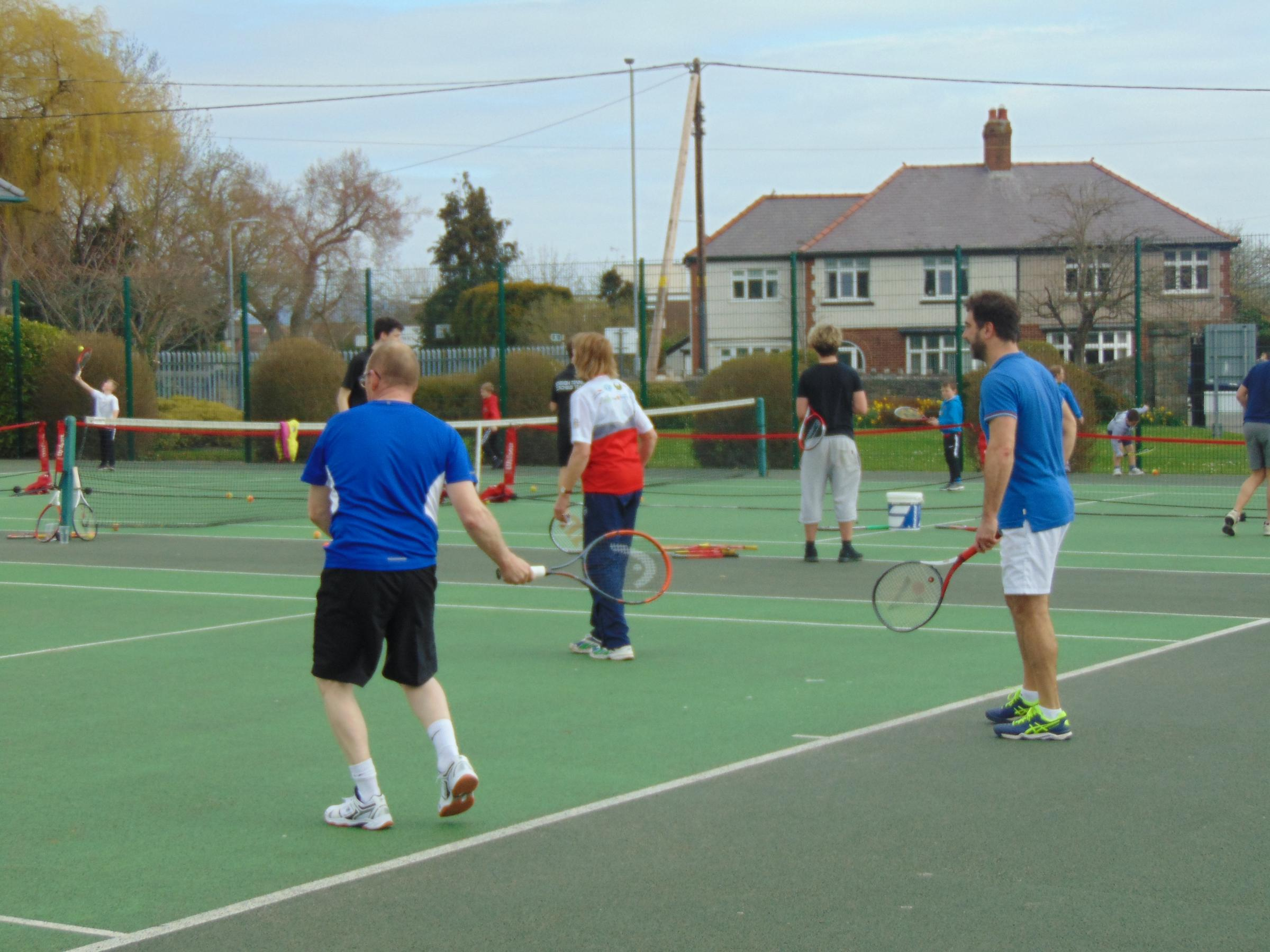 Denbigh Tennis Club Open Day 2018