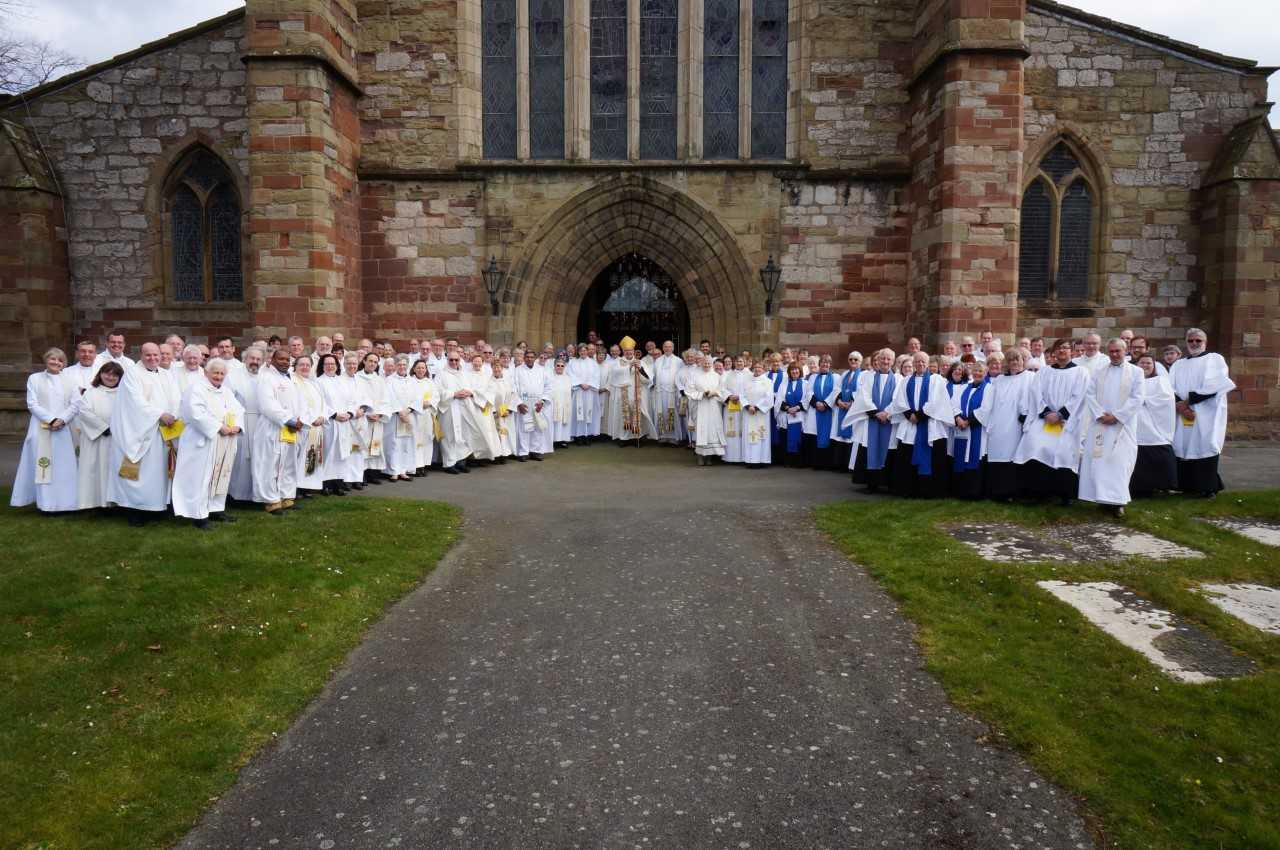 Clergy, lay ministers and congregations from across the Diocese of St Asaph gathered at the Cathedral