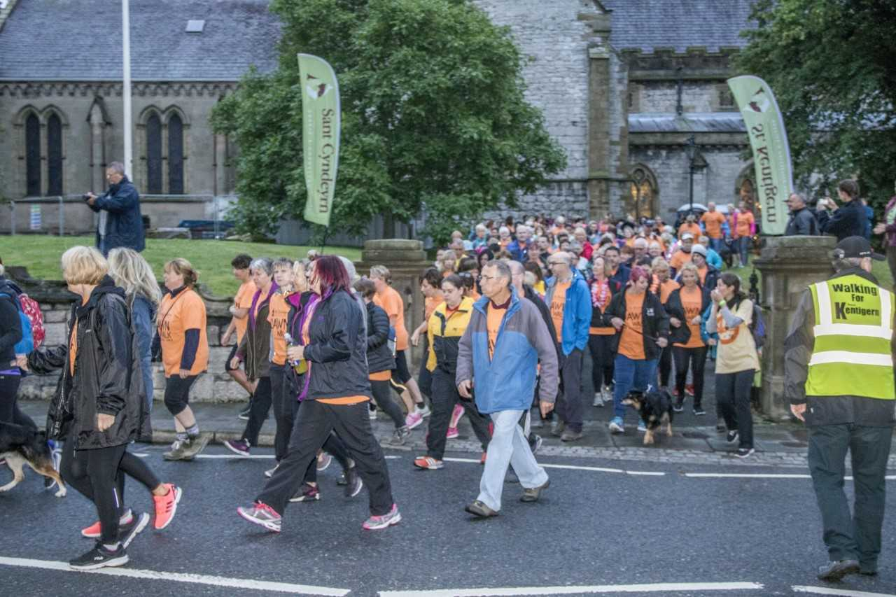 Last year's Dawn Walk attracted more than 200 people