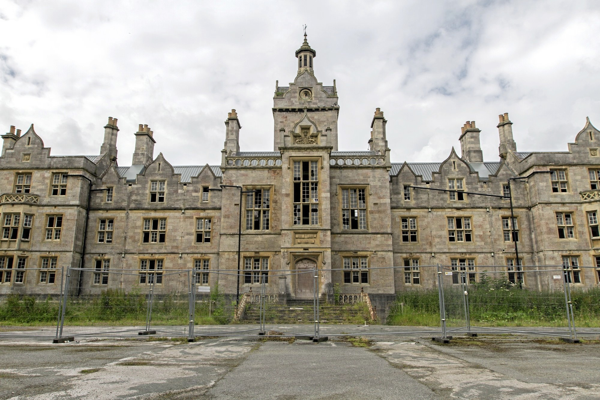 The former North Wales Hospital, Denbigh. Picture: Don Jackson-Wyatt