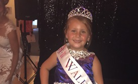 Dahna-Kay, aged six, is now Minnie Face Of Wales 2018 and will represent Wales in the international finals in Disneyland Paris in November