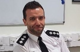 New Chief Inspector for Denbighshire and the Conwy Rural area is Andrew Williams. Picture: CI Andy Williams/Twitter