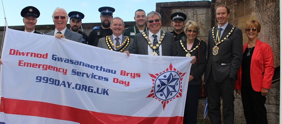 Denbighshire County Council recognises the emergency services