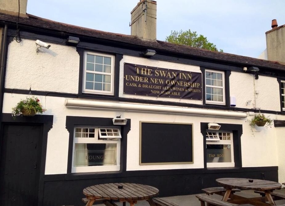 The Swan is welcoming its first ever band to be held at the pub - Saving Violet. Picture: The Swan Inn St Asaph/Facebook