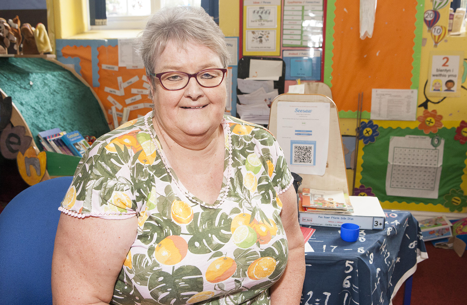 Nerys Jones retired after 31 years